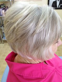 Grey hair is gorgeous!