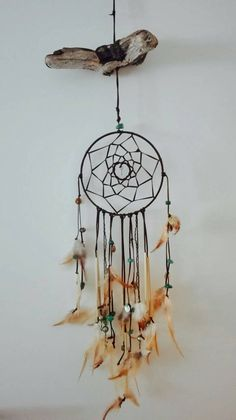 Check out this item in my Etsy shop https://www.etsy.com/de/listing/400795957/dreamcatcher-traumfanger-wall-hanging