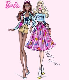 #Barbie Style: BFF by Hayden Williams