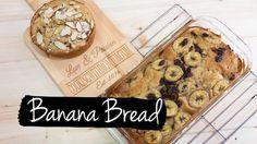 Banana Bread Recipe   ขนมปังกล้วยหอม