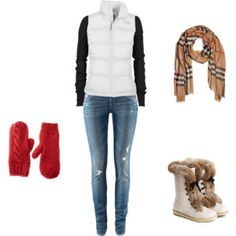 cute comfortable warm winter outfit!