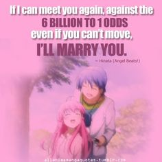 Hinata- Angel Beats--He was a surprisingly good character. Reading quotes from Angel Beats really wants to make me cry because of what happened to all of the characters. Angel Beats, Sad Anime, Me Me Me Anime, Anime Love, Manga Anime, Vocaloid, Manga Quotes, Clannad, Anime Angel