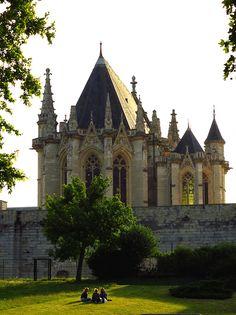 Chateau de Vincennes, France (by Ackteon)