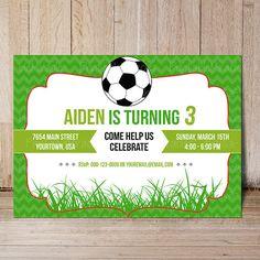 Soccer birthday invitation soccer party invite on etsy 1200 soccer birthday party invitation template filmwisefo