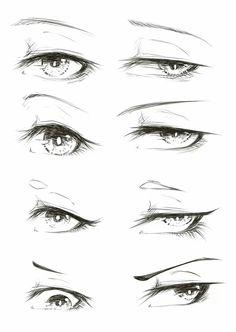 Pin by lauren garrity on drawings art sketches, manga eyes, anime art. Drawing Body Poses, Drawing Reference Poses, Eye Drawing Tutorials, Drawing Tips, Drawing Base, How To Draw Anime Eyes, Anime Eyes Drawing, Mouth Drawing, Anime Drawings Sketches