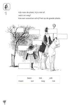 begrijpend lezen woordniveau Sint en Piet