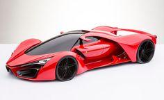 Ferrari F80 Supercar Concept from Italian designer Adriano Raeli