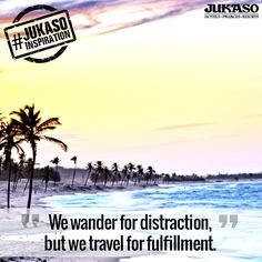 Let yourself free and take a journey towards fulfillment. #JukasoInspiration