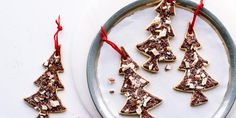 Ghirardelli Recipe: Ghirardelli Peppermint Bark Tree Cookies