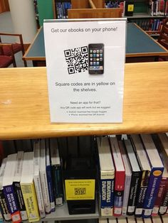 Have to explain QR codes to people!