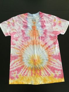 A personal favorite from my Etsy shop https://www.etsy.com/listing/237315534/psychedelic-energy-tie-dye-t-shirt