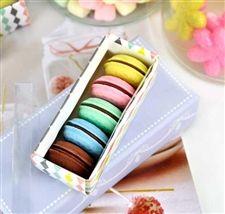 5-Macaron Eraser Box Set! <3 <3