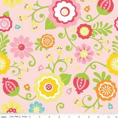 $5 - Simply Sweet - Main Pink Floral - Fabric on the Bolt - per 25cm - Another great product listed on the Cloth 'n' Craft Marketplace! https://www.clothncraft.com.au/shop/simply-sweet-main-pink-floral-fabric-on-the-bolt-per-25cm/