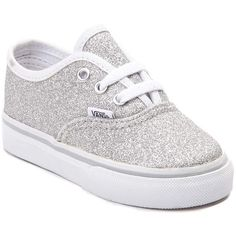 Toddler Vans Authentic Glitter Skate Shoe ( 99) ❤ liked on Polyvore  featuring baby Toddler b53c030c9