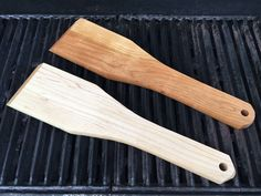 Excited to share the latest addition to my #etsy shop: BBQ scraper (solid hardwood) https://etsy.me/2LdC8oI #housewares #outdoor #cherry #oak #mineraloil #bbq #bbqscraper #hardwood #grillscraper