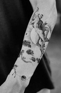 50 Brilliant Black And Grey Tattoos - Get an Ink Elbow Tattoos, Best Sleeve Tattoos, Love Tattoos, Small Tattoos, Tattoos For Guys, Tatoos, Tattoo Mafia, Killer Whale Tattoo, Simplistic Tattoos