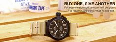Good looking watch and a good cause!