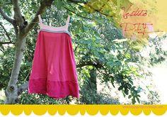 happyprojectsdesign: De camiseta a vestido DIY