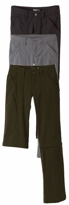 prAna Monarch Convertible Pant - best fitting hiking pant I've ever tried on, plus they're long!!