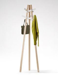 Six Leaf - Clothing Rack by Boyeon Oh, via FormFreundlich.de