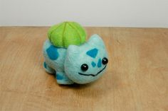 Needle Felted Bulbasaur by najmetender on Etsy, $15.90