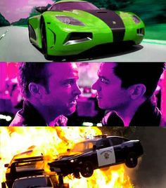 The new Need For Speed movie starring Aaron Paul looks awesome.