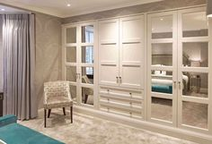 Bedroom sets and examples of newly married architect at home schlafzimmer schrank Bedroom Built In Wardrobe, Bedroom Closet Design, Closet Designs, Bedroom Storage, Bedroom Sets, Bedroom Decor, Bedroom Built Ins, Luxury Wardrobe, Dream Bedroom