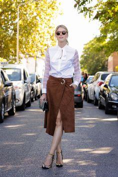 Milan Fashion Week September 2015 | Street styles by Team Peter Stigter | #wefashion