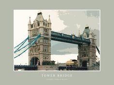 'The Tower Bridge' von Dirk h. Wendt bei artflakes.com als Poster oder Kunstdruck $19.41