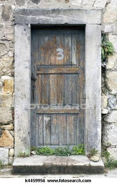Old Oak Door
