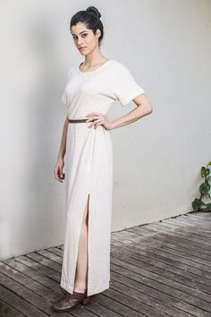 Vestido fenda - FLAVIA ARANHA
