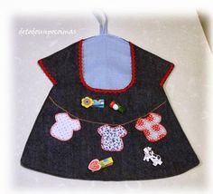 De todo un poco y más... Clothespin Bag, Couture, Apron, Quilts, Sewing, Fabric, Scrappy Quilts, Clothes Line, Laundry Room