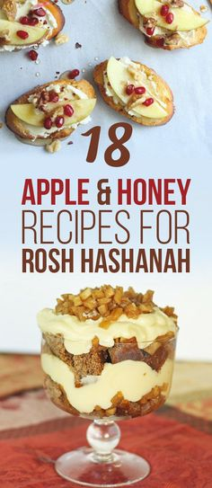 18 Apple And Honey Recipes That Will Impress Your Jewish Grandma - Sara W. - 18 Apple And Honey Recipes That Will Impress Your Jewish Grandma 18 Apple And Honey Recipes That Will Impress Your Jewish Grandma - Kosher Recipes, Honey Recipes, Apple Recipes, Holiday Recipes, Cooking Recipes, Roshashana Recipes, Sukkot Recipes, Apple Honey Recipe, Comida Judaica