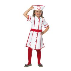 Verpleegster met Kapje, maat 104