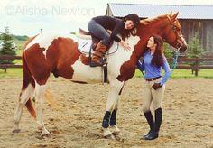 Alisha Newton and sister. #iloveheartland