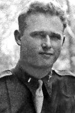 1st Lt Joseph B. Doughty, 506th PIR Company G, Commanding Officer