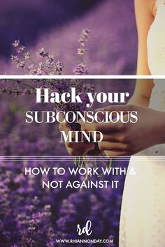 How to stop fighting the sabotaging patterns of your subconscious and work with it instead to truly harness its power and get it working FOR you. Law Of Attraction Meditation, Law Of Attraction Affirmations, Law Of Attraction Tips, Subconscious Mind Power, Spiritual Manifestation, Nlp Techniques, Meditation For Anxiety, Mindfulness Exercises, The Secret Book