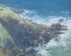 Kristan Baggaley. Acrylic on Canvas. Zennor Headland