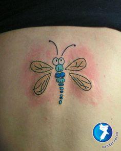 dragonfly tattoos   Funny Dragonfly Tattoo by ~xandervoron on deviantART