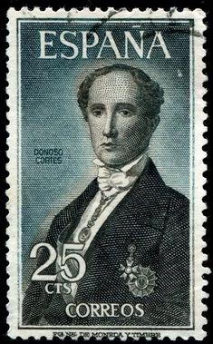 Spain Stamp1965 - Donoso Cortes