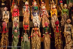 Indonesian Wooden Puppets | Wayang Golek, Indonesian traditi… | Flickr