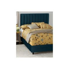Mystic King Channel-Tufted Bed ($1,399) ❤ liked on Polyvore featuring home, furniture, beds, peacock, peacock furniture, king size bed head, handmade furniture, handcrafted furniture and handmade headboards