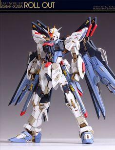 Custom Build: MG 1/100 ZGMF-X20A Strike Freedom Gundam + Conversion - Gundam Kits Collection News and Reviews