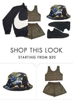 """""""eminado"""" by cinirateixeira ❤ liked on Polyvore featuring Stussy, CO and NIKE"""