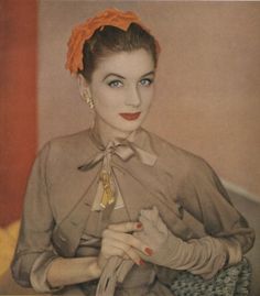 Suzy Parker Vogue 1953
