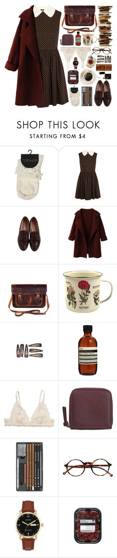 """300916"" by rosemarykate ❤ liked on Polyvore featuring Miu Miu, Maybe-Baby, WithChic, Zatchels, Dot & Bo, Aesop, Monki, Givenchy, Retrò and Jack Spade"