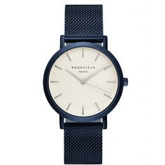 Mercer Blauw Dameshorloge | ROSEFIELD Watches
