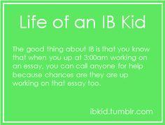 Life of an IB Kid