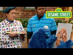 Sesame Street: Still Life With Cookie - YouTube *This clip covers still life, self portrait, and more!