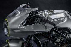 Taking to the Streets - Husqvarna Aero 401 concept will be one of 3 'Real Street' bikes in the companies bid to become known for off and on road bikes. via returnofthecaferacers.com